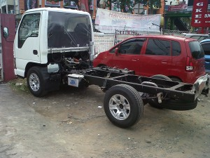 Isuzu Elf Microbus chassis Only