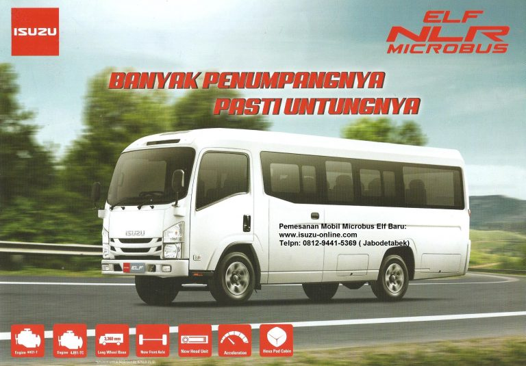 Harga Mobil Isuzu Elf Microbus 16 Seat baru