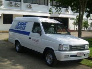 Isuzu Pickup Blind Van