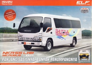 Mobil Isuzu Elf Microbus 20 Seat baru 2016