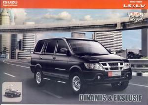 Mobil isuzu Panther LS LV baru 2014