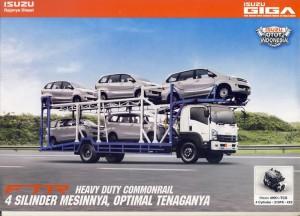 Truk Isuzu Giga FTR 210 PS 6 ban baru 2014