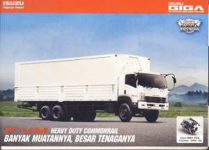 Truk Isuzu Giga FVM 240 PS baru 10 Roda 2014