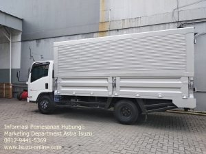 Truk Isuzu Elf Karoseri Wingbox
