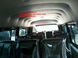 Interior Microbus Elf Standard