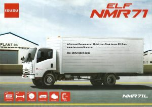Truk Isuzu Elf NMR 71 125 PS Long Chassis TL