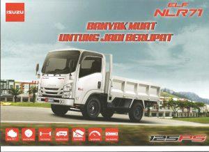 Isuzu Elf NLR 71 125 PS 4 Roda Engkel 125 PS
