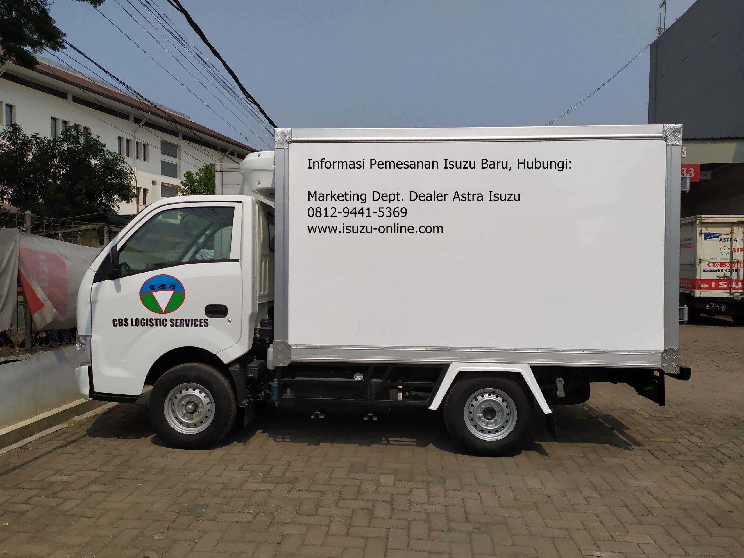 isuzu traga box freezer